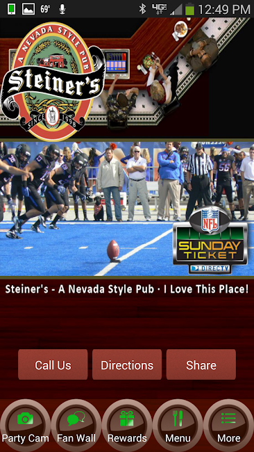 #6. Steiner's - A Nevada Style Pub (Android)