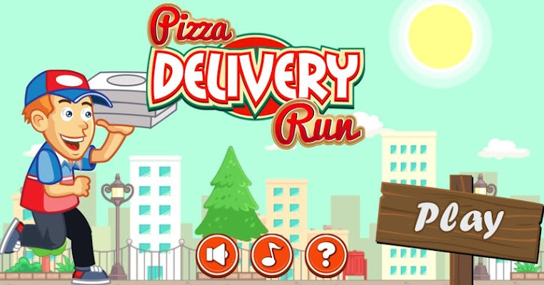 Pizza Delivery Run - screenshot