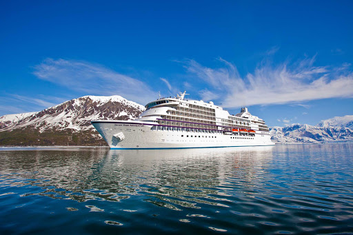 Regent-Seven-Seas-Navigator-in-Alaska-3 - Seven Seas Navigator carves a journey through breathtaking glaciers on her Alaska itinerary.