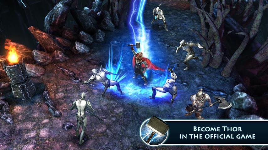 Screenshot 1 Thor: TDW - The Official Game