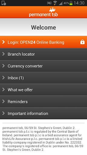 permanent tsb mobile banking