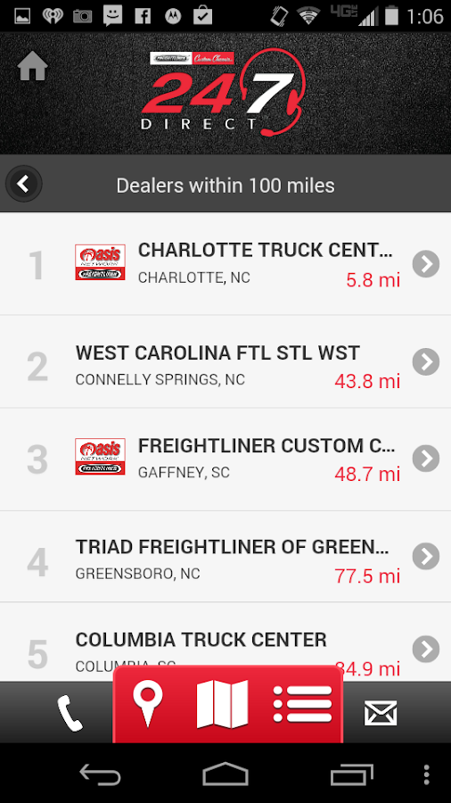 Freightliner 24/7 Direct- screenshot