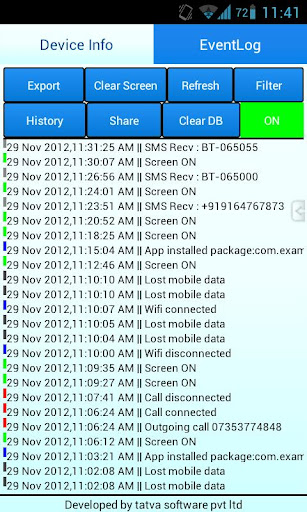 Diagnosis Pro - Event Logger