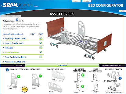 Span Bed Configurator- screenshot thumbnail