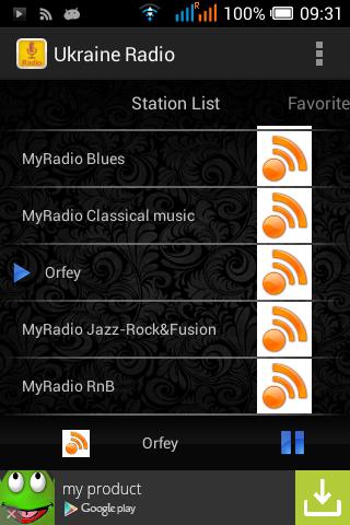 Ukraine Radio Station