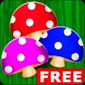 Mushroom Tic Tac Toe
