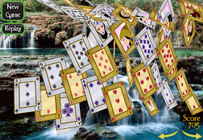 Screenshot of Solitaire 3D Pro