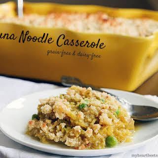 """Tuna """"Noodle"""" Casserole."""