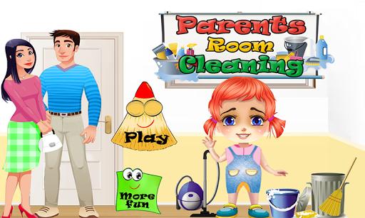 両親のルームクリーニングゲーム