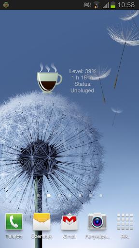 Coffee Battery Widget +