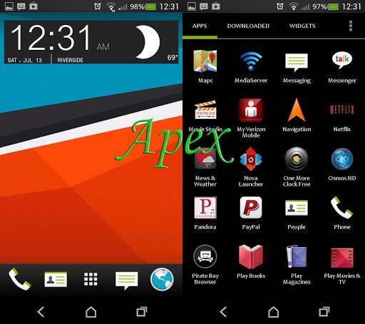 HTC 12 in1 theme w go sms lock
