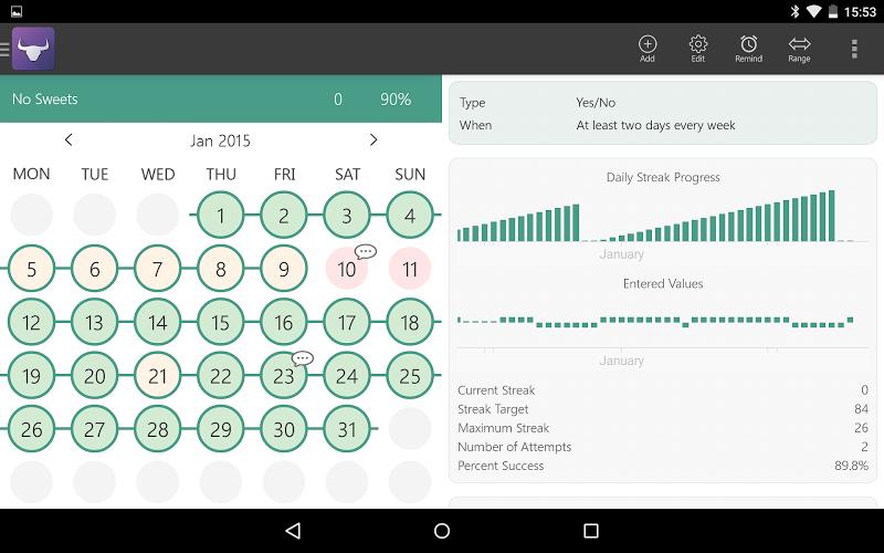 Habit Tracker Screenshot 16