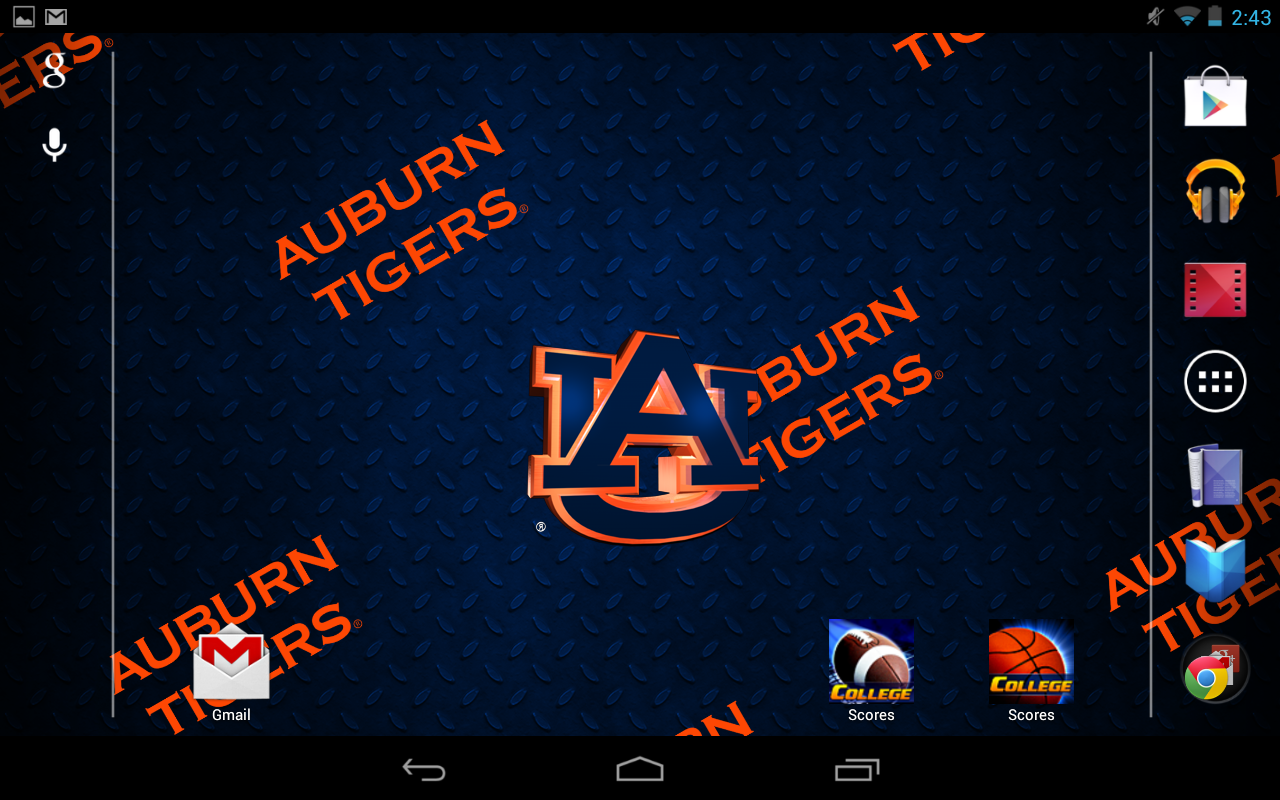 Auburn Tigers Live Wallpaper- screenshot