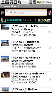 Torrance Library - screenshot thumbnail