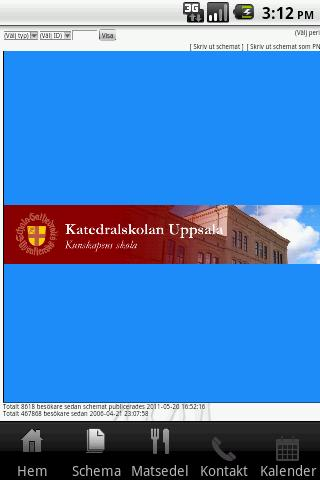 Katedralskolan - screenshot