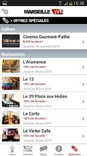 Marseille Live - screenshot thumbnail