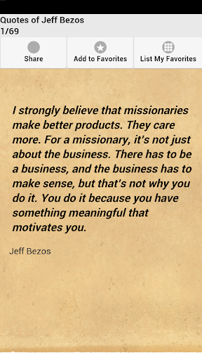 Quotes of Jeff Bezos