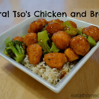 General Tso's Chicken and Broccoli.