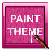 Paint Pink - Launcher Theme