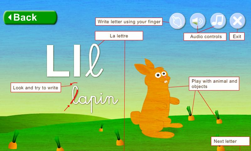 Learn French - Animal Alphabet- screenshot