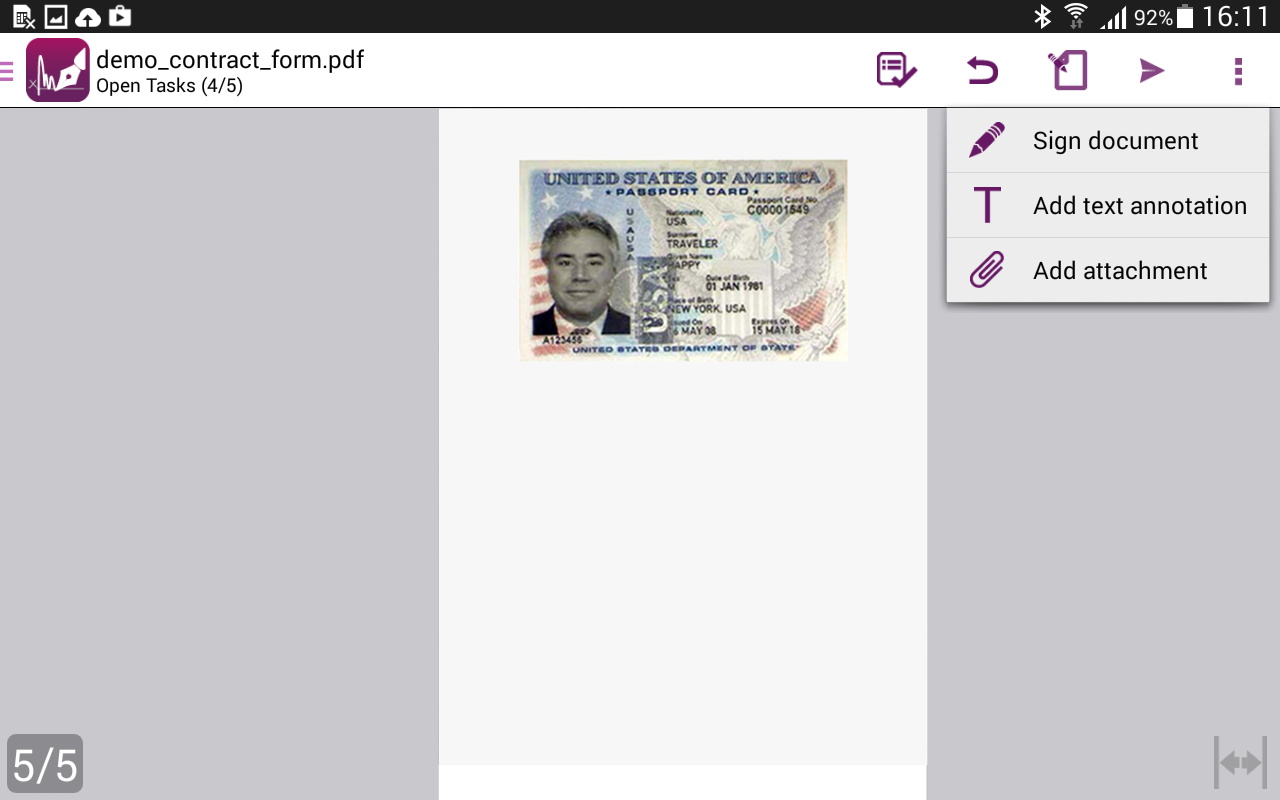 how to add digital signature to pdf standard dc