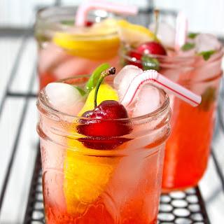 Sweet & Sour Cherry Sparkler