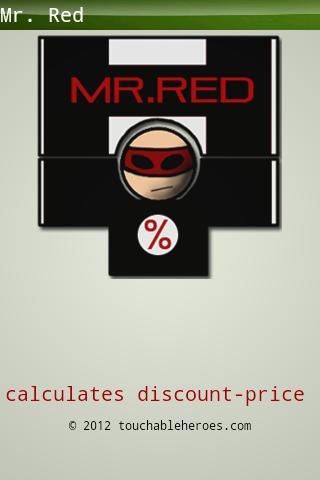 Mr. Red percentage calculator- screenshot