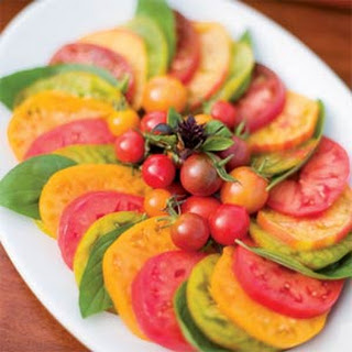 Deep-Summer Tomato-Basil Salad