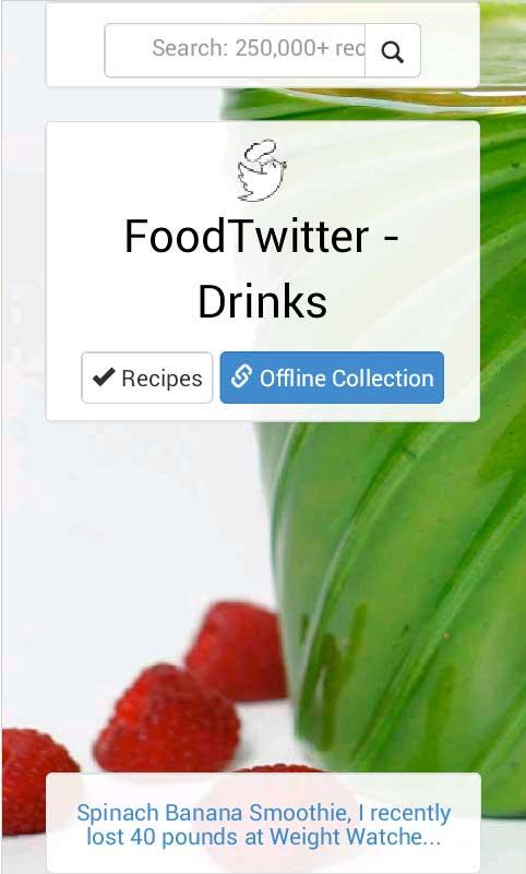 Drinks & Smoothies allrecipes- screenshot