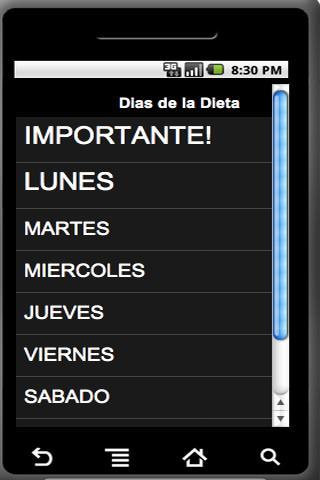 Dieta de la Piña - screenshot