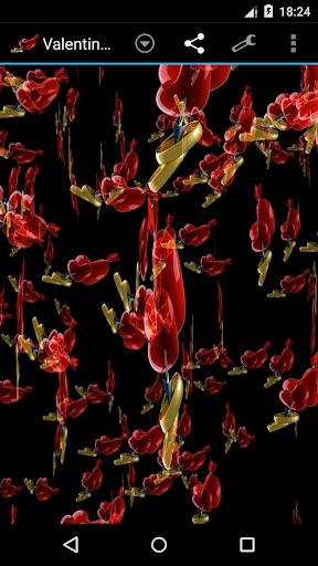 情人节风暴3D壁纸