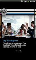 Screenshot of PizzaExpress