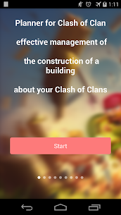 Planner for Clash of Clans 1