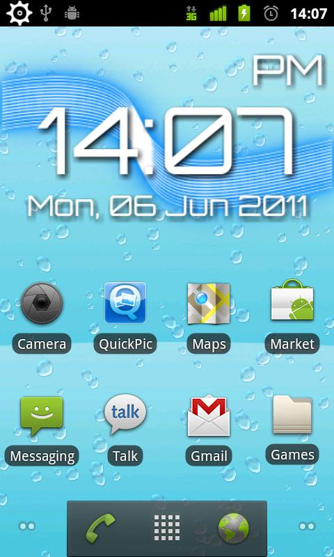 HydroTilt Live Wallpaper - screenshot