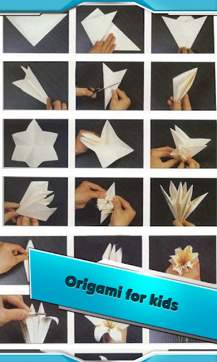 Origami step by step lessons