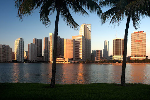 With its proximity to the Caribbean, Miami is the busiest cruise port in the world.