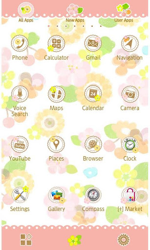 Flower Flow Wallpaper Theme 1.3 Windows u7528 3