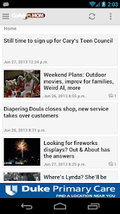 GoAskMom from WRAL.com - screenshot thumbnail