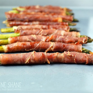 Asparagus Wrapped In Prosciutto.