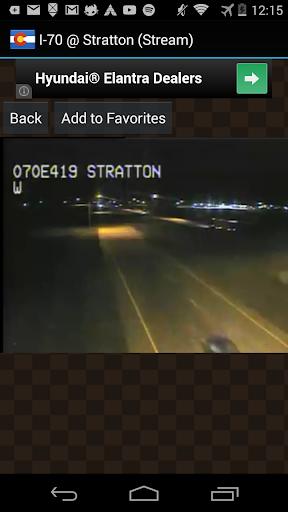 Colorado Live Traffic Cameras