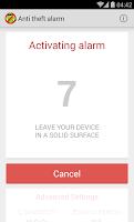 Screenshot of Anti Theft Alarm