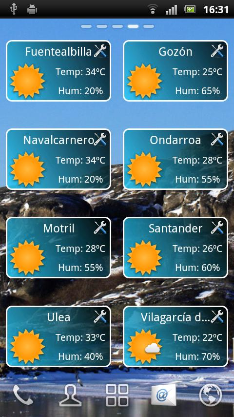Weather Droid - screenshot