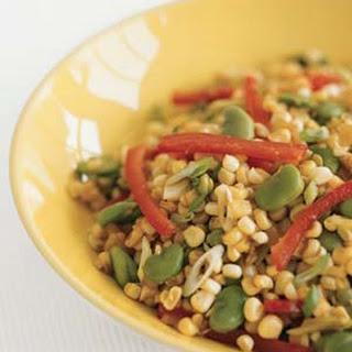 Charred-Corn Succotash.