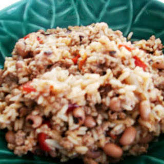 Creole Black-Eyed Peas and Rice