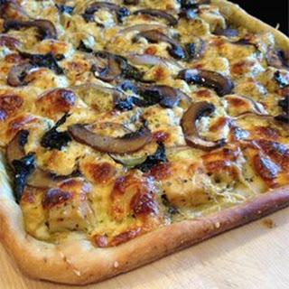 Chicken and Gorgonzola Pizza.