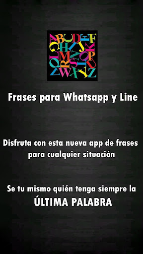 Frases para Whatsapp y Line