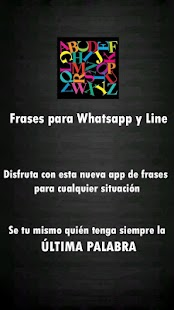 Frases para Whatsapp y Line - screenshot thumbnail