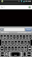 Screenshot of Ghost Glow Keyboard Skin