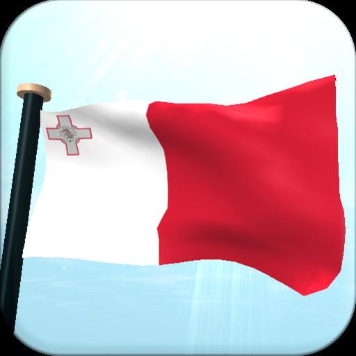 マルタフラグ3D無料ライブ壁紙 個人化 App LOGO-APP試玩
