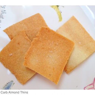 Low Carb Almond Thins.